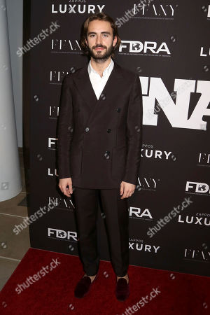 Stock Photo of Nicolo Beretta attends the 30th FN Achievement Awards, presented by Footwear News, at IAC Headquarters, in New York