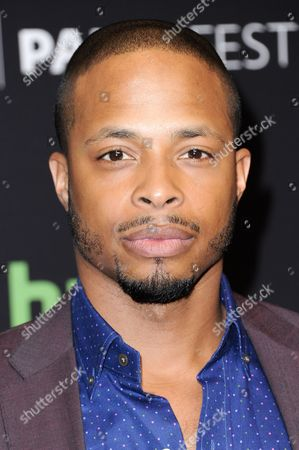 """Cornelius Smith Jr. attends the 33rd Annual Paleyfest: """"Scandal"""" held at the Dolby Theatre, in Los Angeles"""