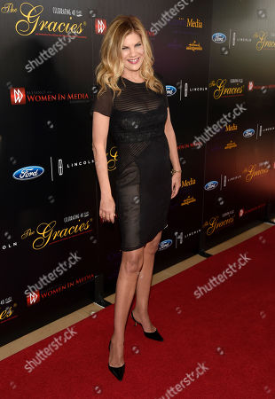 Kristen Johnston arrives at the 40th Anniversary Gracies Awards at the Beverly Hilton Hotel, in Beverly Hills, Calif. The event supports the AWMF's many educational programs, charitable activities, public service and scholarship campaigns that benefit women in media