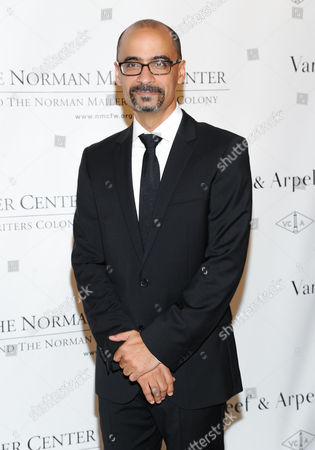 Mailer Prize for Distinguished Writing recipient Junot Diaz attends the 5th annual Norman Mailer Center benefit gala at The New York Public Library on in New York