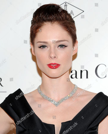 Model Coca Rocha attends the 5th annual Norman Mailer Center benefit gala at The New York Public Library on in New York