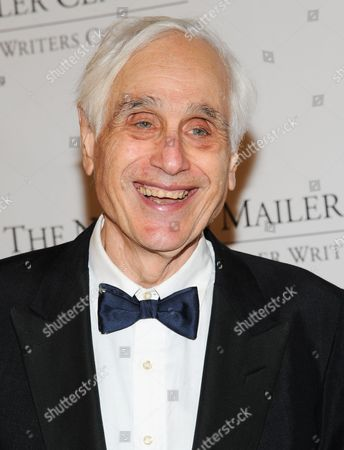 Stock Image of Journalist Edward Epstein attends the 5th annual Norman Mailer Center benefit gala at The New York Public Library on in New York