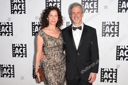 Allison Diftler, left, and William Goldenberg attend the 65th Annual ACE Eddie Awards at the Beverly Hilton Hotel, in Beverly Hills, Calif