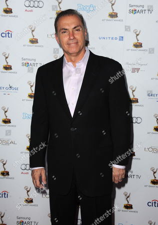 Al Sapienza arrives at the 65th Primetime Emmy Awards Performers Nominee Reception, on at Spectra by Wolfgang Puck at the Pacific Design Center, in West Hollywood, Calif