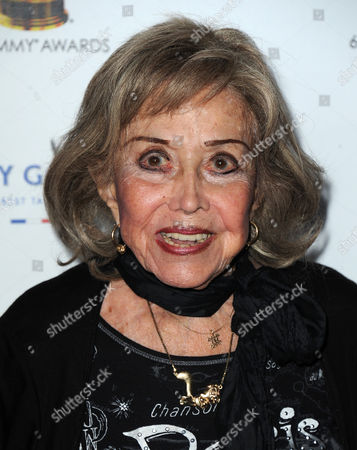 June Foray arrives at the 65th Primetime Emmy Awards Performers Nominee Reception, on at Spectra by Wolfgang Puck at the Pacific Design Center, in West Hollywood, Calif