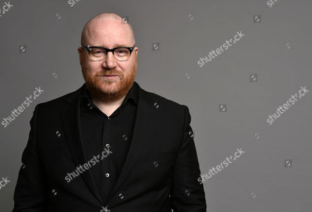 Johann Johannsson poses for a portrait during the 87th Academy Awards nominees luncheon at the Beverly Hilton Hotel, in Beverly Hills, Calif
