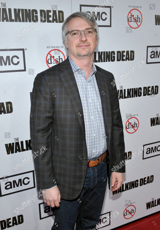 "Glen Mazzara attends the premiere of ""The Walking Dead"" at Universal Studios, in Los Angeles"