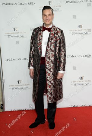 Cameron Silver attends the American Ballet Theatre's 75th Anniversary Gala at the David H. Koch Theater, in New York