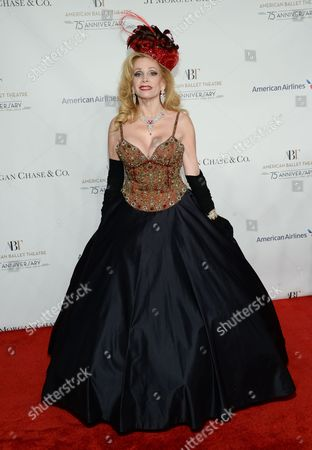 Joy Marks attends the American Ballet Theatre's 75th Anniversary Gala at the David H. Koch Theater, in New York