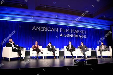 Editorial photo of American Film Market - Day 3, Santa Monica, USA