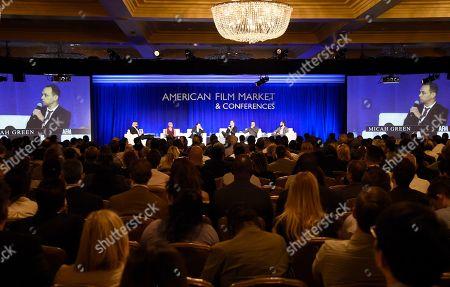 Editorial image of American Film Market - Day 3, Santa Monica, USA