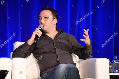 Stock Photo of Myles Nestel, Co-Founder/Partner, The Solution Entertainment Group, speaks at the American Film Market Finance Conference I: The 360 View at the Fairmont Hotel, in Santa Monica, Calif