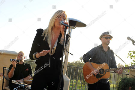 Stock Image of Singer Cherish Lee performs at An Evening with No Limits sponsored by Starkey Foundation on in Los Angeles