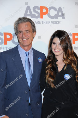 Bobby Shriver, at left, and Katherine Schwartzenegger arrive at ASPCA Cocktail Event honoring Kaley Cuoco - Sweeting and Nikki Reed at a Bel Air private residence, in Los Angeles, CA (Photo by Katy Winn/Invision/AP)Bobby Shriver, at left, and Katherine Schwartzenegger arrive at ASPCA Cocktail Event honoring Kaley Cuoco - Sweeting and Nikki Reed at a Bel Air private residence on Wednesday, Oct. 22, 2014, in Los Angeles