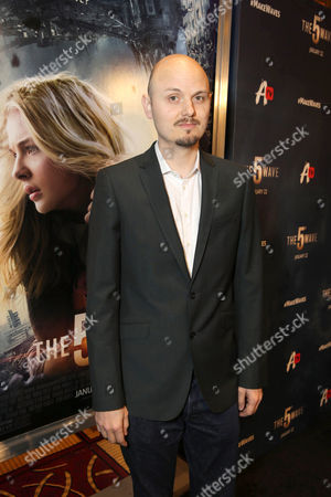 Director J Blakeson seen at AwesomenessTV special fan screening of Columbia Pictures 'The 5th Wave' at Pacific Theatres at the Grove, in Los Angeles, CA