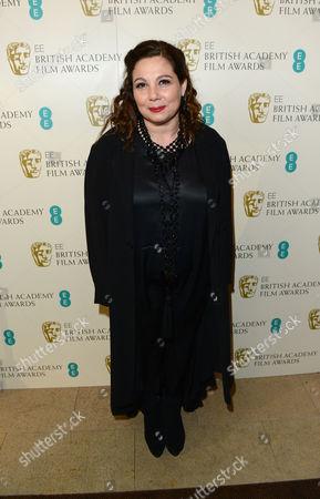Tessa Ross seen arriving for the BAFTA Film Awards at the Royal Opera House, in London