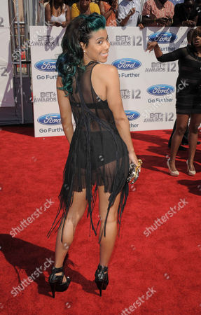 Sofi Green arrives at the BET Awards, in Los Angeles