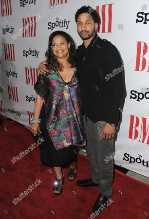 Debbie Allen and Norman Nixon Jr. arrive at the BMI Urban Awards on in Beverly Hills, Calif