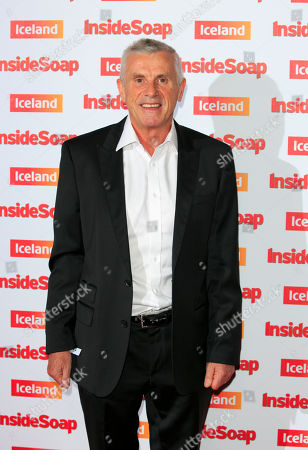 Stock Image of British actor Jimmy McKenna arrives for the Inside Soap awards, held in central London