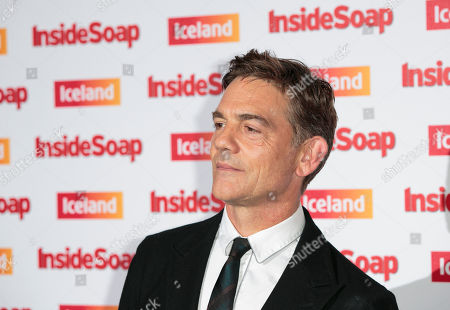 British actor John Michie arrives for the Inside Soap awards, held in central London