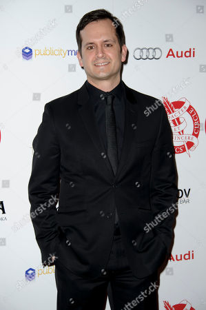Stock Image of Jon Gregory arrives for The London Critics Circle Awards, in London