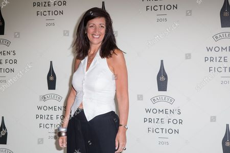 Novelist Louise Doughty poses for photographers upon arrival at the Bailey Women's Prize for Fiction Awards Ceremony in London