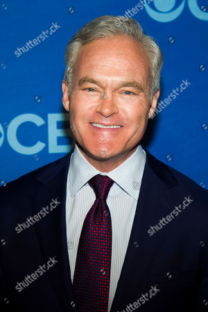 Scott Pelley attends the CBS Upfront on in New York