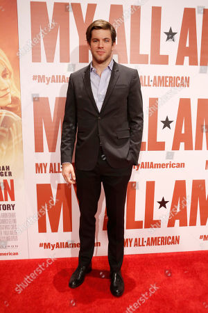Stock Picture of Richard Kohnke seen at Clarius Entertainment Los Angeles Premiere of 'My All American' at The Grove, in Los Angeles, CA