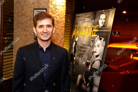 "Creator/Writer/Executive Producer Chuck Rose seen at Crackle's ""The Art of More"" SAG Screening at The Landmark, in Los Angeles"