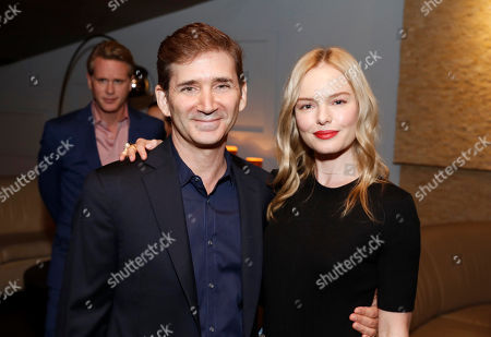 "Creator/Writer/Executive Producer Chuck Rose and Kate Bosworth seen at Crackle's ""The Art of More"" SAG Screening at The Landmark, in Los Angeles"