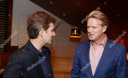 "Creator/Writer/Executive Producer Chuck Rose and Cary Elwes seen at Crackle's ""The Art of More"" SAG Screening at The Landmark, in Los Angeles"