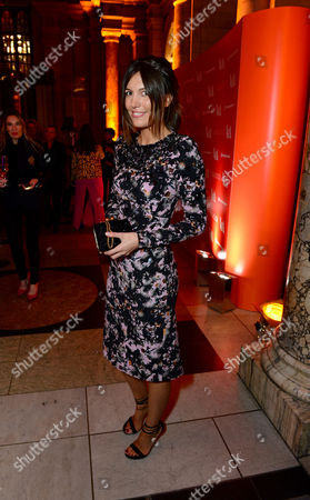 Amanda Ferry seen at the VIP reception for the 'David Bowie Is' exhibition at the V&A Museum in London on
