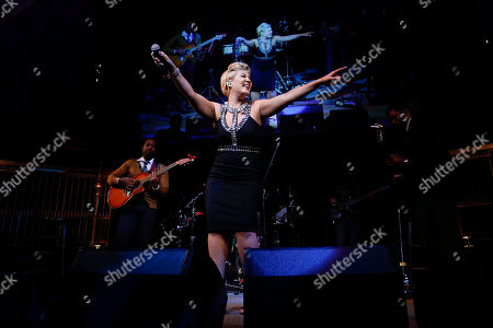 """Musical artist Tessanne Chin performs at the Lupus Foundation of America's """"Evening of Hope"""" Gala, on in New York"""