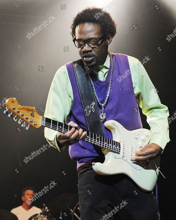 Eric Gales performs on opening night of the Experience Hendrix 2014 Tour at the Seminole Hard Rock Hotel and Casinos' Hard Rock Live on in Hollywood, Florida