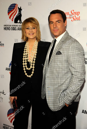Cristina Ferrare, left, and Mark Steines attend the American Humane Association's 4th Annual 'Hero Dog Awards'? at the Beverly Hilton Hotel, in Beverly Hills, Calif