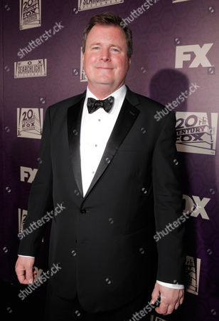 James W. Skotchdopole is seen at FOX's 72nd annual Golden Globe Awards Party at the Beverly Hilton Hotel, in Beverly Hills, Calif