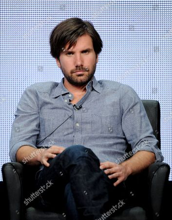 """Actor Jon Lajoie participates in """"The League"""" panel at the FX 2013 Summer TCA press tour at the Beverly Hilton Hotel on in Beverly Hills, Calif"""