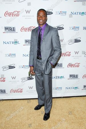 Willie Gault attends Gold Meets Golden at Equinox, in Los Angles