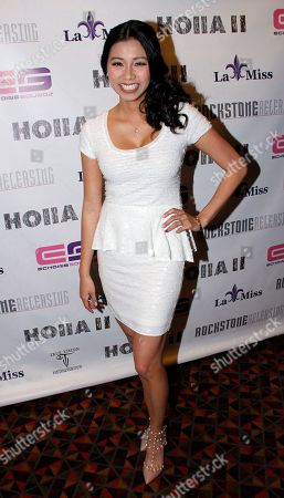 Actress Crystal Hoang attends Holla II Movie Premiere - NYC on Wed, at AMC Empire 25 in New York. NY
