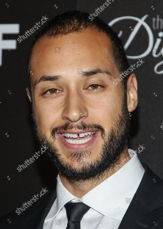 Actor Jaylen Moore arrives at the Inaugural Dignity Gala at the Beverly Hilton Hotel on in Beverly Hills, Calif