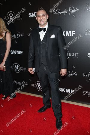 TV personality Chris Nirschel arrives at the Inaugural Dignity Gala at the Beverly Hilton Hotel on in Beverly Hills, Calif