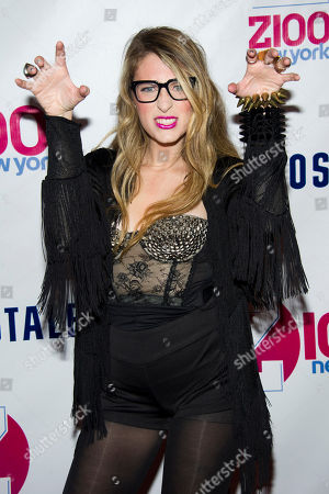 Erica America attends Z100's Jingle Ball on in New York