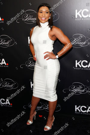 Stock Photo of Jeanette Jenkins attends Keep a Child Alive's 13th Annual Black Ball at the Hammerstein Ballroom, in New York