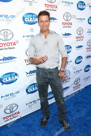 David Chokachi attends the Keep it Clean Live Comedy Benefit held at Avalon Hollywood, in Los Angeles