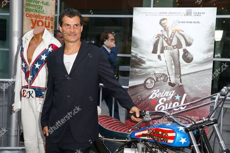 """Mat Hoffman arrives at the LA Premiere of """"Being Evel"""" at ArcLight Cinemas, in Los Angeles"""