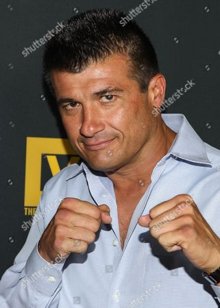 """Danny Musico arrives at the premiere of """"Generation Iron"""" at the Chinese 6 Theatres on in Los Angeles"""