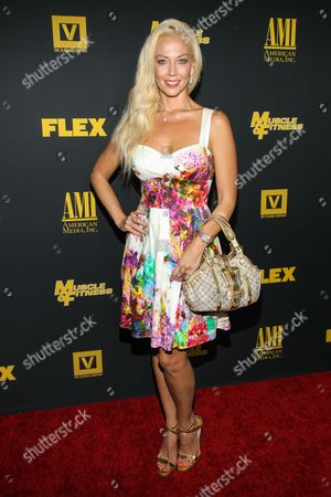 "Actress Liz Fuller arrives at the premiere of ""Generation Iron"" at the Chinese 6 Theatres on in Los Angeles"