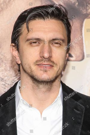 Dragos Savulescu attends the premiere of Warner Bros. Pictures' 'Jupiter Ascending' at TCL Chinese Theatre on in Hollywood, Calif
