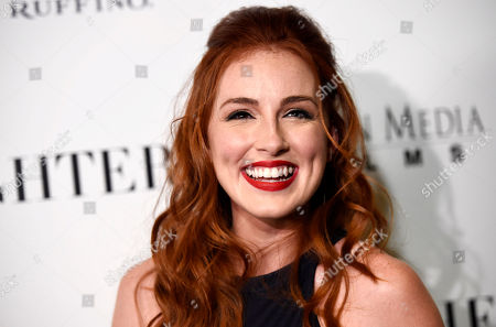 """Stock Image of Alexandra Daniels, a cast member in """"Mothers and Daughters,"""" poses at the premiere of the film at the London West Hollywood Hotel Screening Room, in West Hollywood, Calif"""