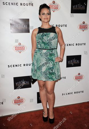 "Editorial picture of LA Premiere of ""Scenic Route"" - Arrivals, Los Angeles, USA"